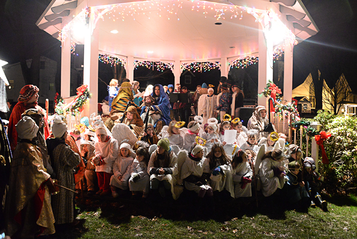 Living Nativity in Ellicottville