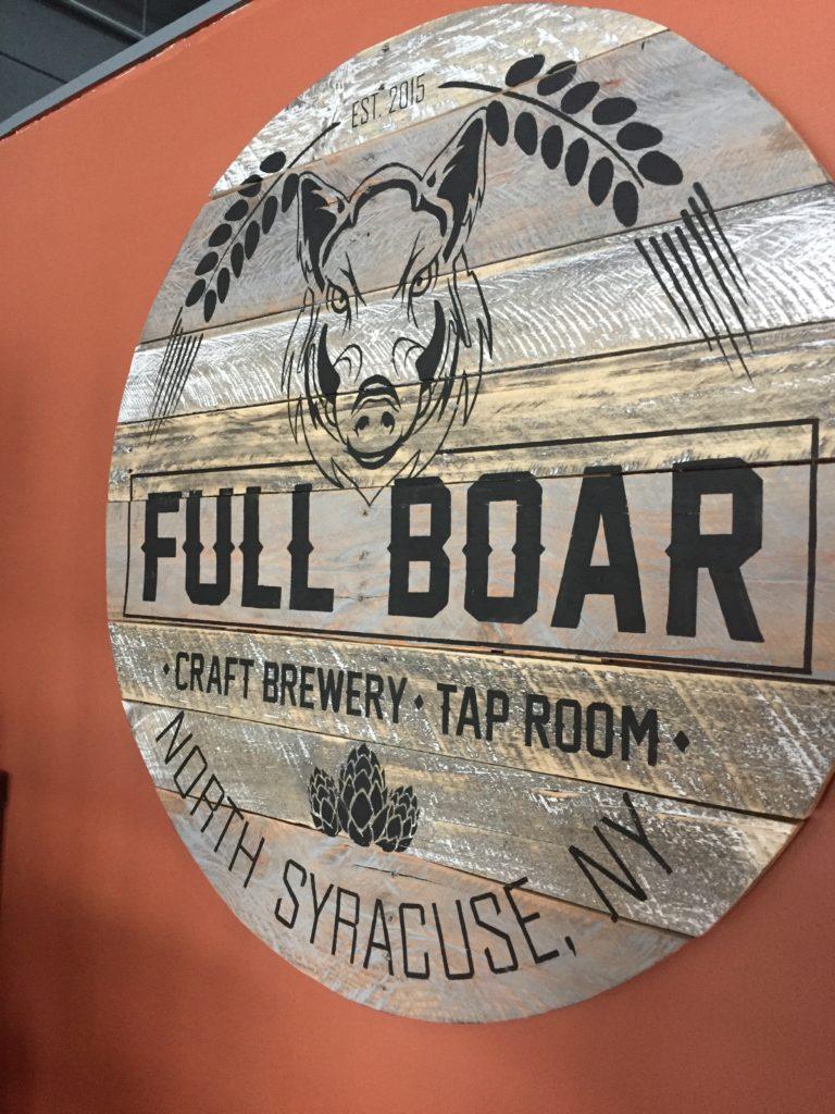 Full Boar Logo Sign