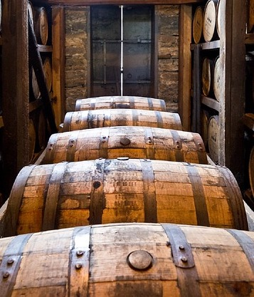 barrels in a row