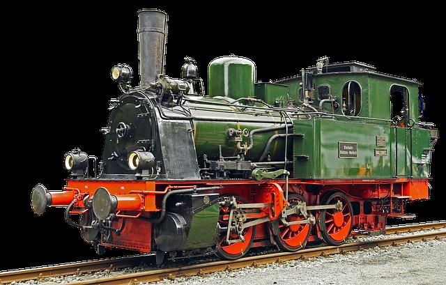 historic train engine