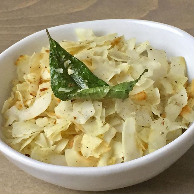 coconut chips from Divya's Kitchen