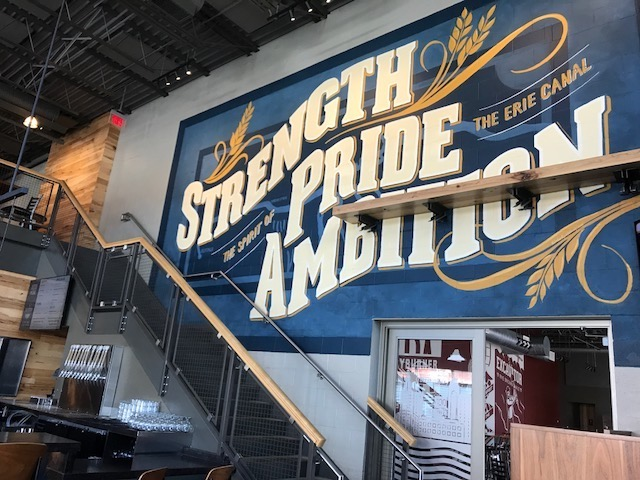 Strength Pride Ambition sign