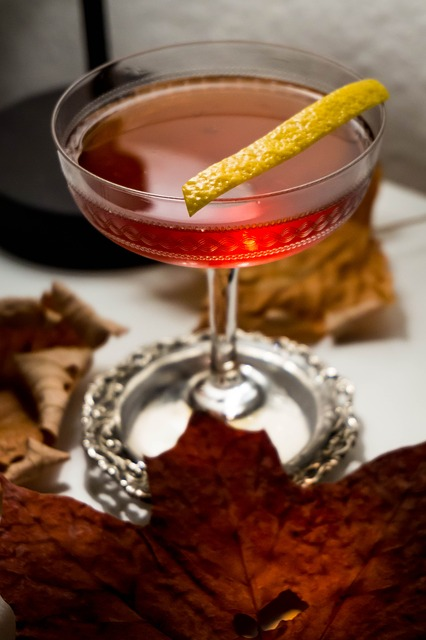 raspberry with lemon zest martini