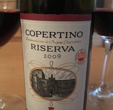 Copertino Riserva 2009 from Puglia is a Bargain