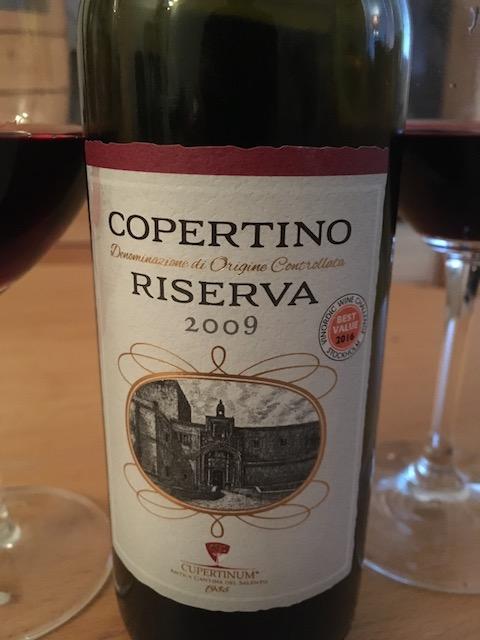 Copertino Riserva Puglia